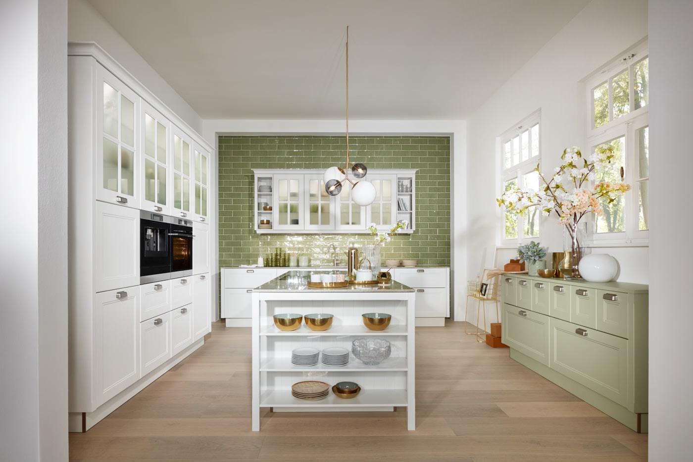 Landelijke keuken modern & licht