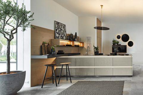 Moderne keuken Portland Saffiergrijs
